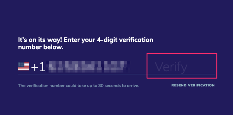 4 Digit Verification Codes are not Presale Passwords – Seated